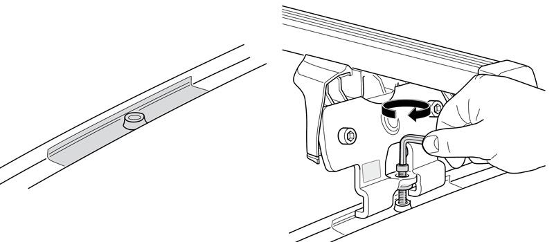 serrure acier n022 pour galerie boxe Porte-vélos THULE de rechange clé